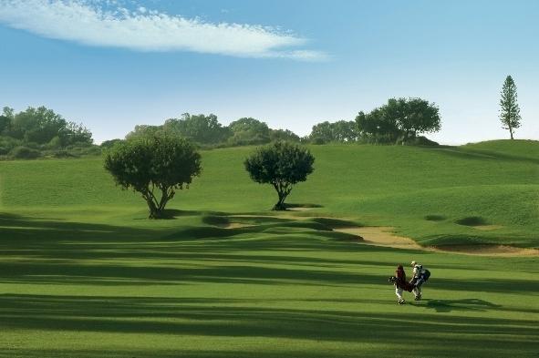 במגרש הגולף החדש בקיסריה