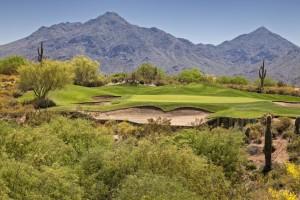 מגרש גולף במדבר