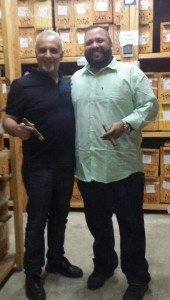 עם אייב פלורס מ'PDR Cigars'